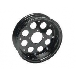 Alu wheel 10 inch x 3.5 with 8 holes black