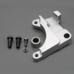 Front brake support for Crab brake caliper for Dax / Monkey with mecanics fork