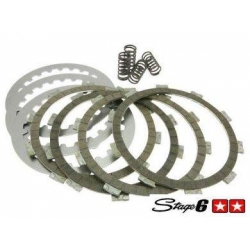 Koppelings set Stage 6 Aprilia RS - Peugeot XP - X limit en alle AM6 motor