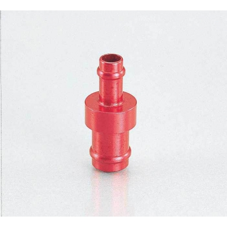 Fuel hose adaptator 5mm to 8mm by Kitaco red