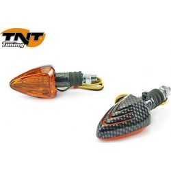 Pair of flashing Peak chrome plated by TNT
