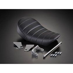 G-CRAFT Super Flat Black Tuck n' Roll Seat for 4L Monkey