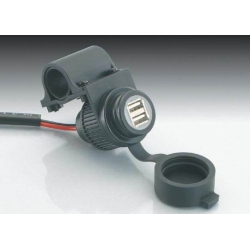 USB connector with handlebar clamp Kitaco