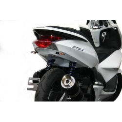 Rear cover Ermax black for Honda Pcx 125