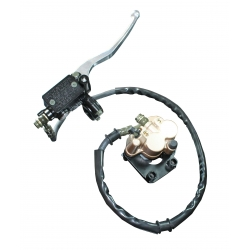Standard 2 pots brake caliper with hose and brake lever