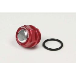 Carburator magnetic drain bolt red Takegawa for FCR 03-03-0055