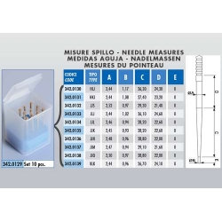 Carburator needle kit for PWK Polini 342.0129