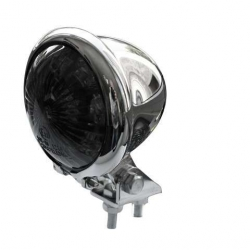 Taillight look caferacer leds Ø50mm smoke chrome plated