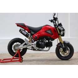 Set full race system with carbon silencer Tyga for Honda MSX 125