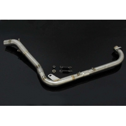 Set full race system without silencer Tyga for Honda MSX 125