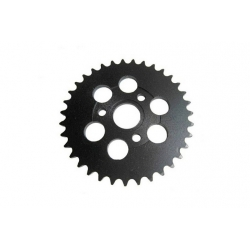 Black rear sprocket for Honda Monkey Gorilla and Singa Skymini..