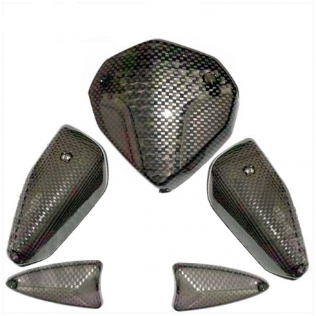 Taillight and winkers lens carbon look for Aerox / Nitro 2013