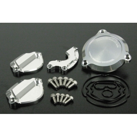 Head cover set aluminium cnc Takegawa for Super Head 4V + R