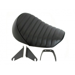 Seat Monkey Kepspeed Rised back black with black piping
