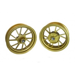 Golden wheels set for Honda Grom MSX - - GROM 125
