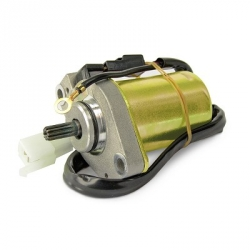 Startmotor for GY6 engine with electric connector
