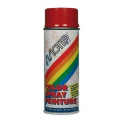 Color spray peinture Motip fire red