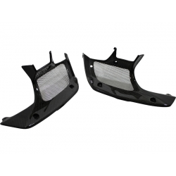 Carbon inner shrouds with grill Honda MSX / Grom 125