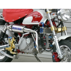 Pot Over Racing Hand-Bend Up muffler inox