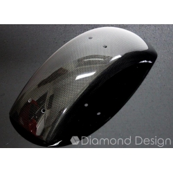 Carbon fibers rear fender for Honda Dax ST CT 6V (OT). By Diamond Design