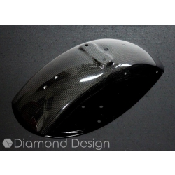 Carbon voorspatbord voor Honda Dax ST CT 6V (OT). By Diamond Design