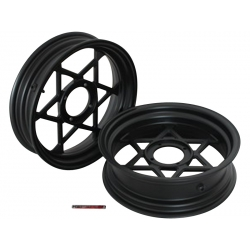 "Kepspeed KP3 wheels set 2.75+3.50 12"" black"