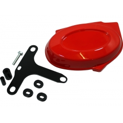 Monkey Right Side Panel with bracket red