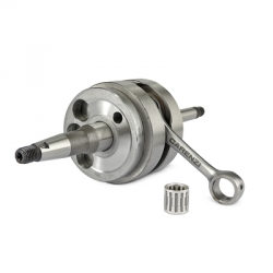 Crankshaft Carenzi for scooter peugeot with air pomp