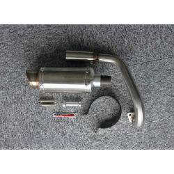 Kepspeed up swept stainless steel exhaust for Honda Monkey and Singa