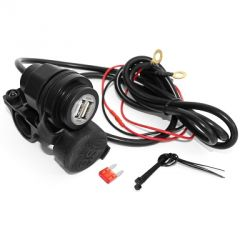 USB charger / loader for scooter and motorbike 12v / 2.1A