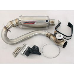 Exhaust Kepspeed Monkey GP2 sound adjust stainless
