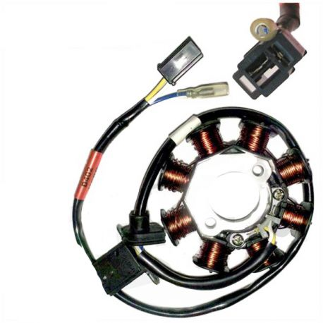Ignition stator GY6, Kymco Agility, Filly, Vitality, Dink