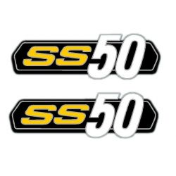 Stickers / decal set Honda SS50 - repro