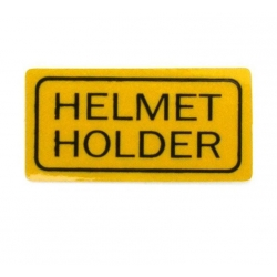 Sticker Helmet Holder rep