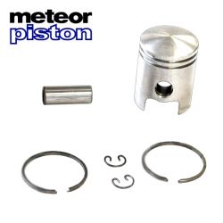 Piston kit METEOR Peugeot 103 - Fox and Honda Wallaroo diameter 39.88 AB
