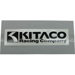 Sticker kitaco black color 23x120mm