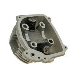Cylinder head Gy6 125 cc to 183 cc big valves 27-22 with ERG - SLS, height 60mm