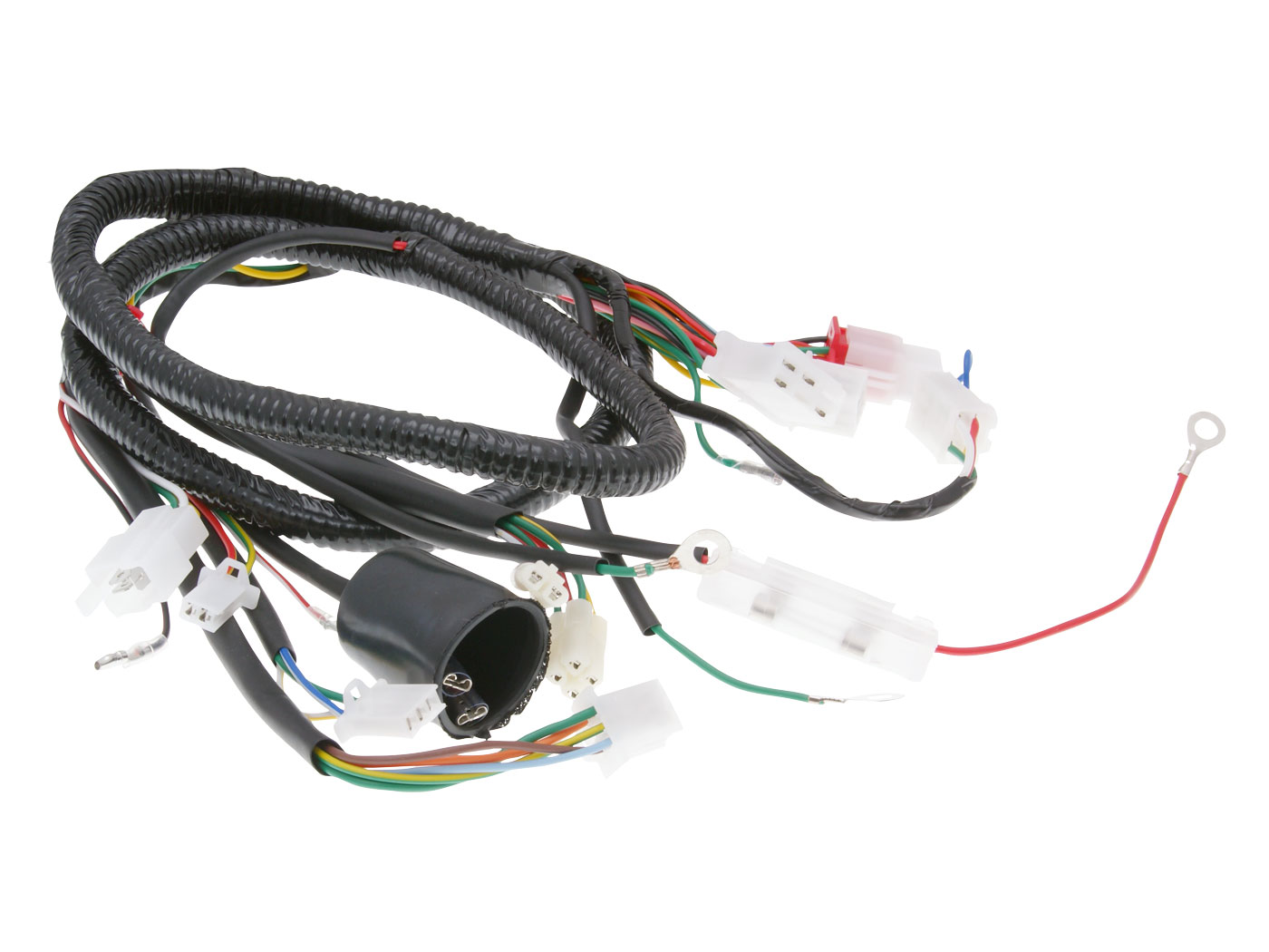 Wiring Harness For Peugeot V Clic En Different Chinese Scooter 4 Kymco And Spark Plug Stroke 50cc Price 1899 Motorkit Bt17296 Directly Availabl
