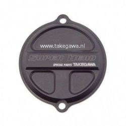 Super Head F5 CNC cover Takegawa Ignition cover magnesium black