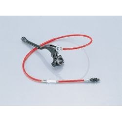 Kitaco red clutch cable with black alu lever set