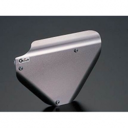 G-Craft brushed aluminium left side cover Honda Monkey Gorilla and Singa Skymini Bongo