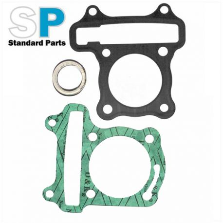 Gasket set for 4 stroke chinese scooter with GY6 engine for 70cc kit 47mm  price : 11,98 € Motorkit available at MOTORKIT