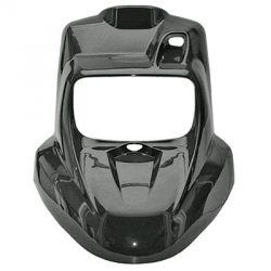 TNT wide front cover / fairing for Booster / Bw's from 2004 Black