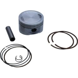Piston kit Honda MSX - Grom 125cc, for kit light 180 cc - 63 mm