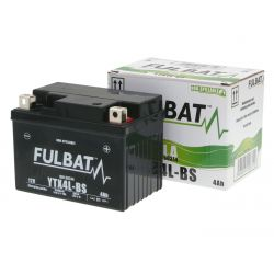 Gel battery BS SLA YTX4L-BS / CBX4L-BS 12V 3A/h 114 X 70 X 85 mm