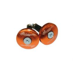 Embout de guidon Victoria-Bull orange 12mm