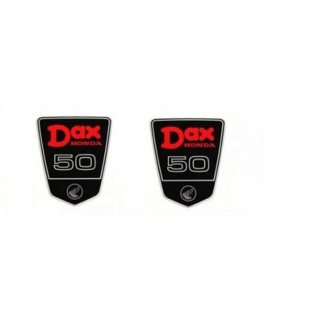 Dax ST CT emblem stickers set for 6 Volts OT 50 cc  Reproduction price :  16,99 € Motorkit STICK50DAX available at MOTORKIT