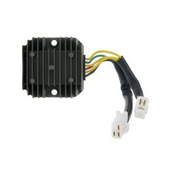 Voltage regulator Sym Kymco Honda Piaggio Malaguti 125 cc - 6 wires