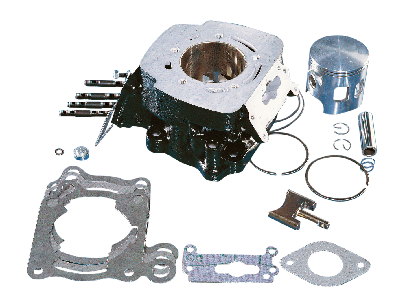 Cylinder Kit Polini 64mm 165cc For Cagiva Mito 125 Motorkit Power Valve Wiring