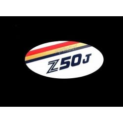Sticker - Adhesive for side cover Honda Monkey Z50J. Price for 1 piece.